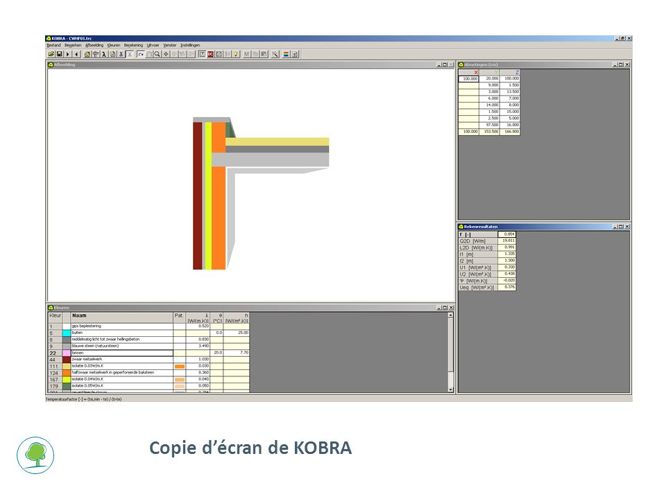 Copie d'écran de KOBRA
