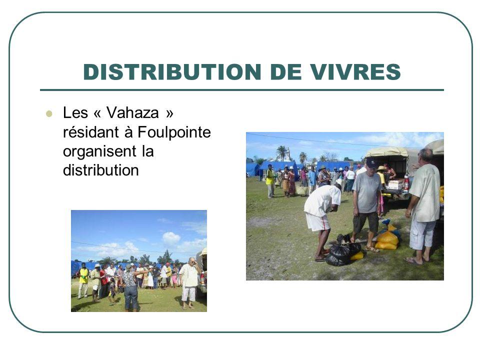 DISTRIBUTION DE VIVRES