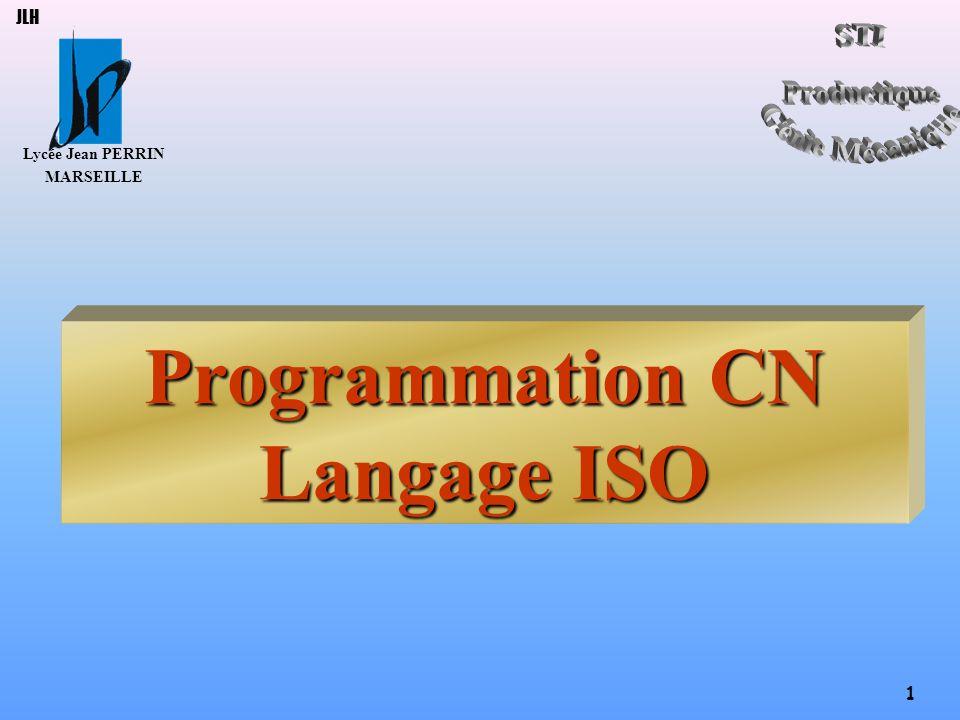 Programmation CN Langage ISO
