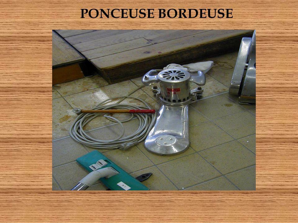 PONCEUSE BORDEUSE