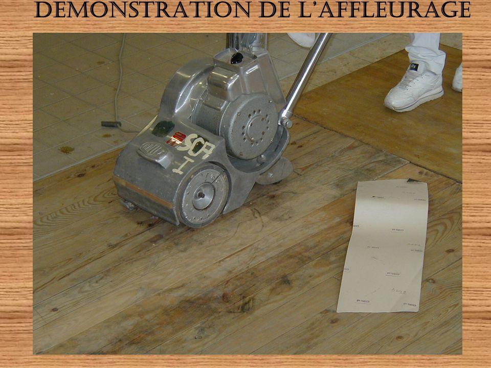 DEMONSTRATION DE L'AFFLEURAGE