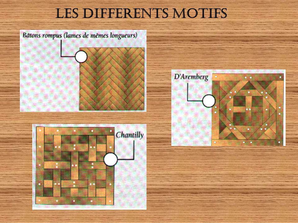 LES DIFFERENTS MOTIFS