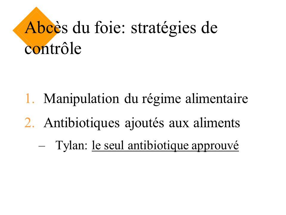 Abcès du foie: stratégies de contrôle