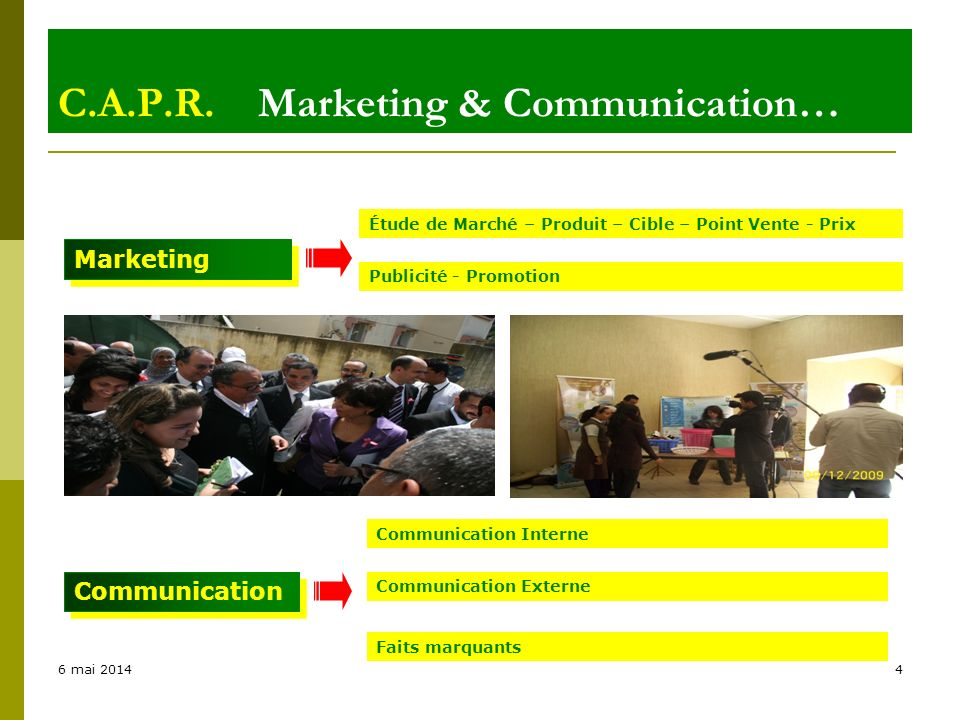 C.A.P.R. Marketing & Communication…