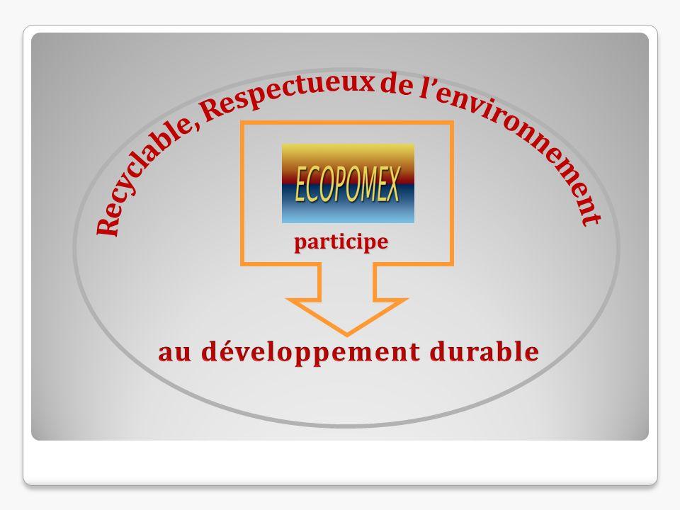 Recyclable, Respectueux de l'environnement au développement durable