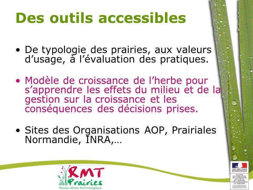 Des outils accessibles