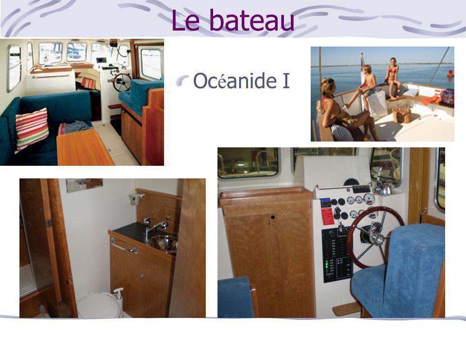 Le bateau Océanide I
