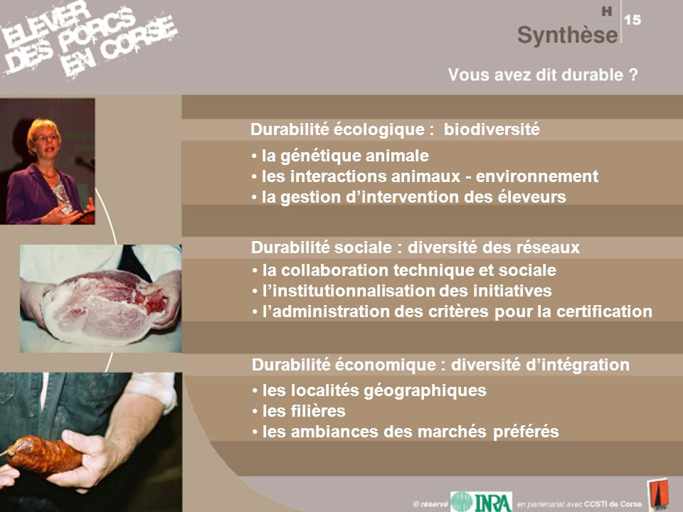 Durabilité écologique : biodiversité