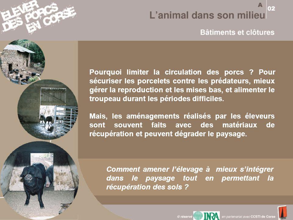 Pourquoi limiter la circulation des porcs