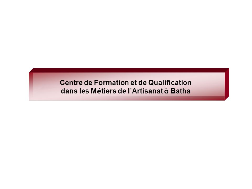 Centre de Formation et de Qualification