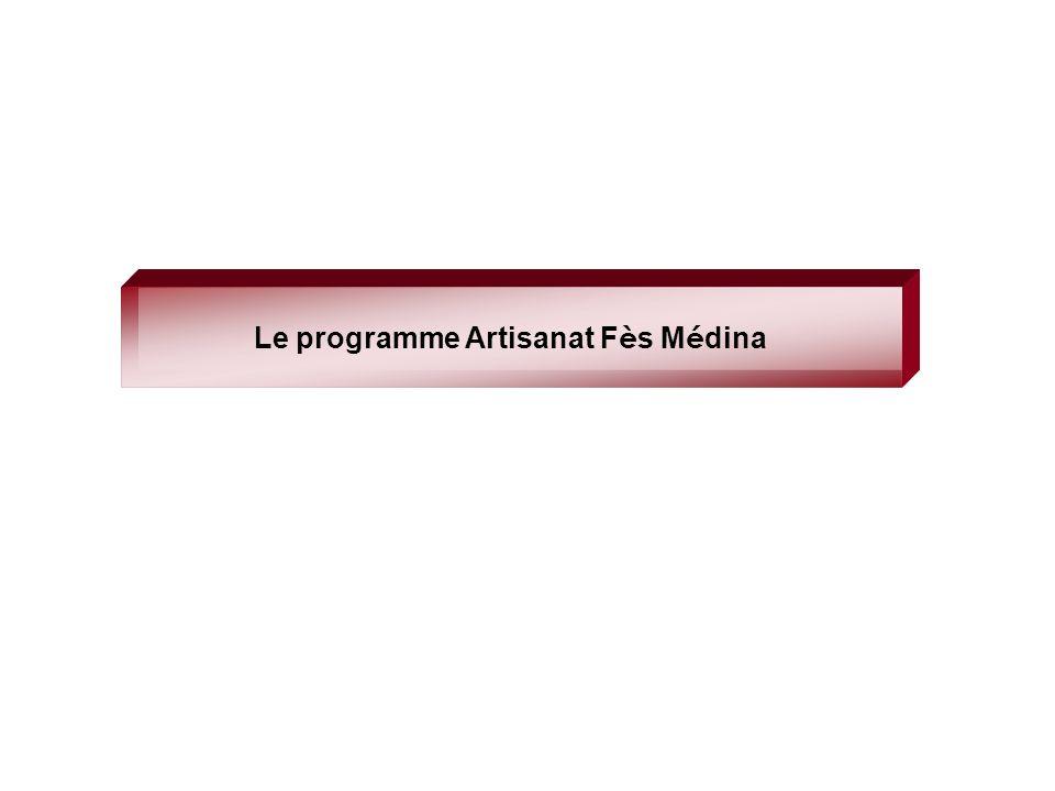 Le programme Artisanat Fès Médina