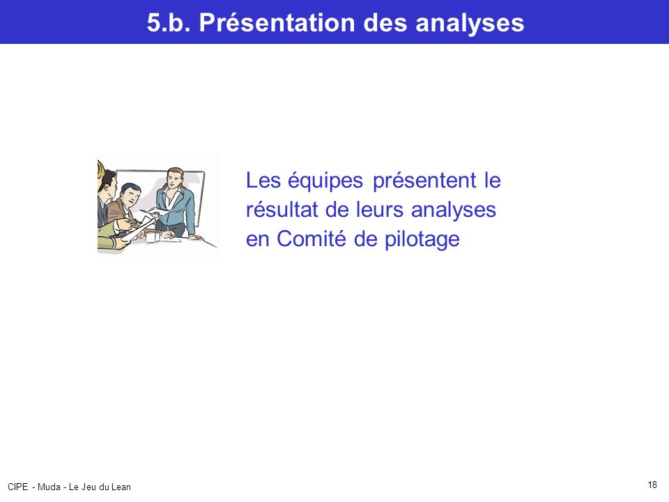 5.b. Présentation des analyses