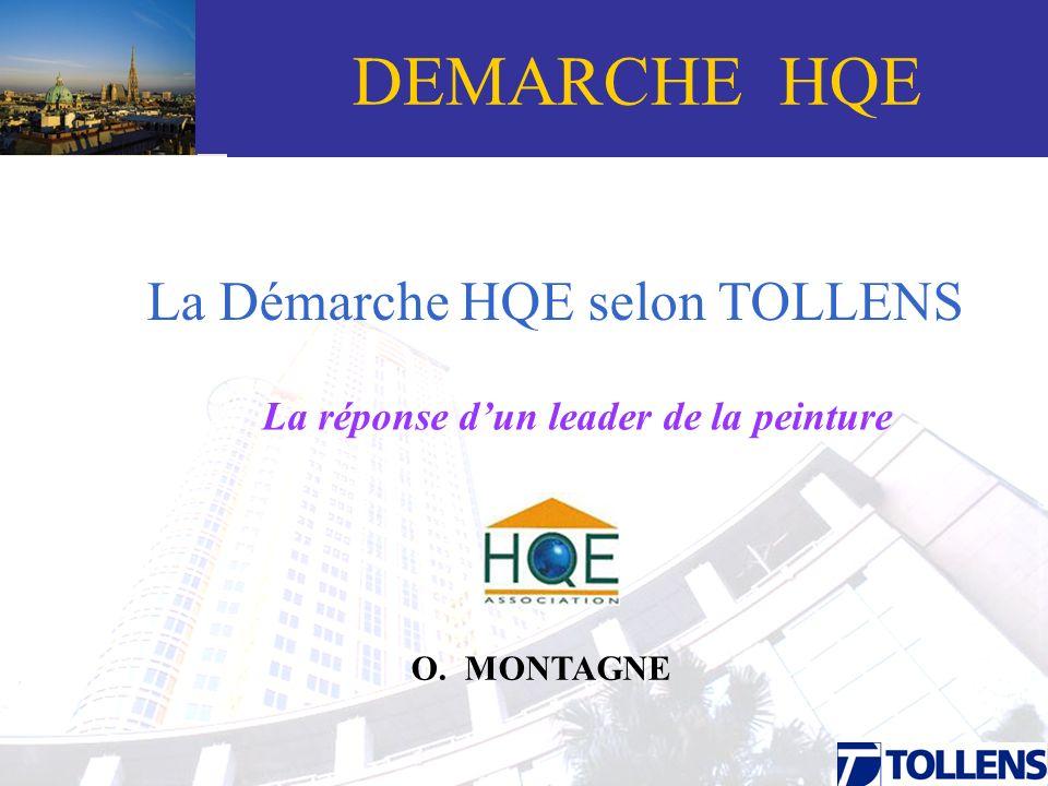 DEMARCHE HQE Grand-Titre La Démarche HQE selon TOLLENS