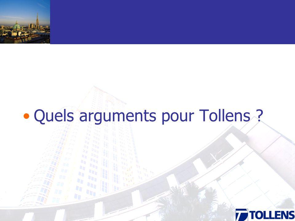 Quels arguments pour Tollens