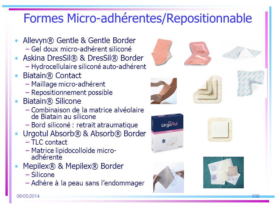 Formes Micro-adhérentes/Repositionnable