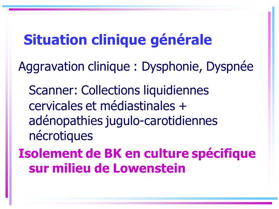 Situation clinique générale