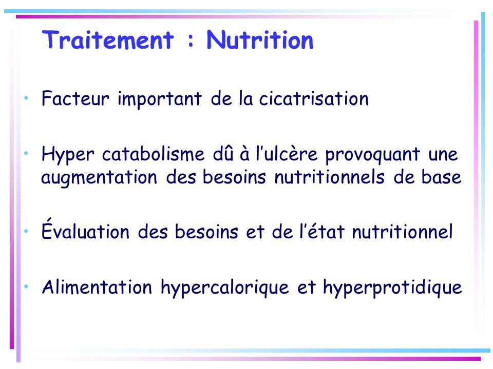 Traitement : Nutrition