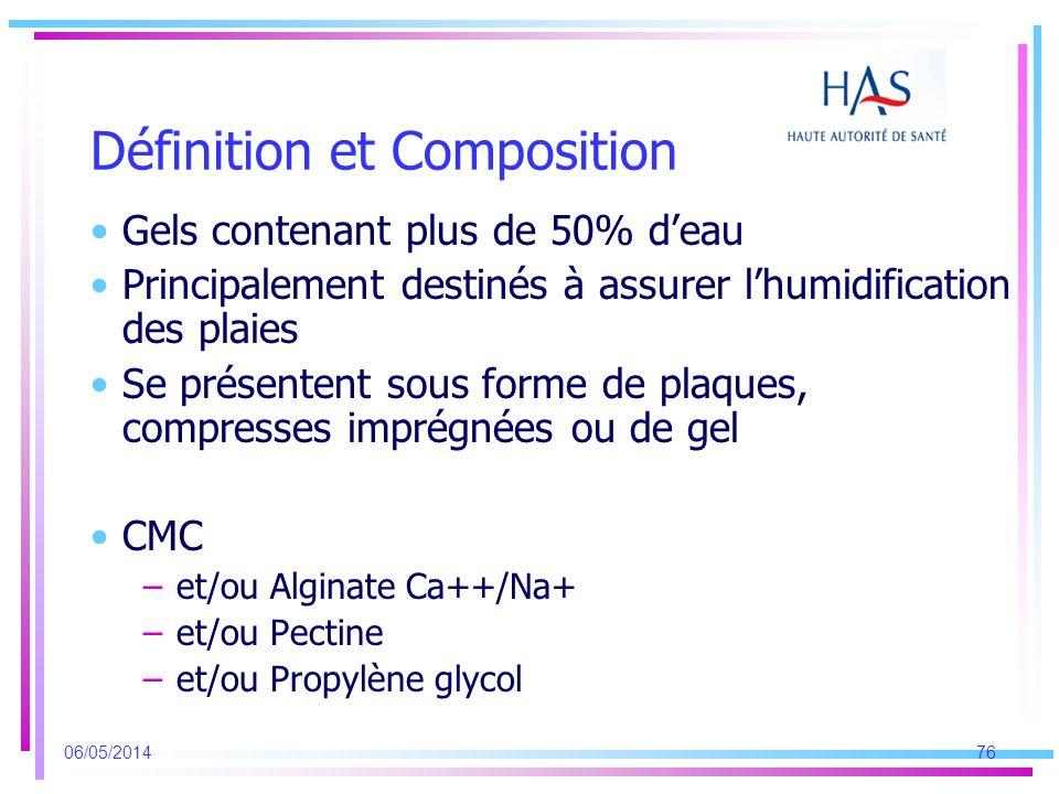 Définition et Composition