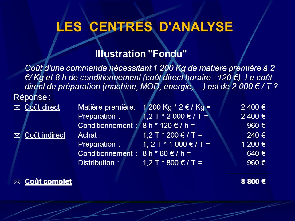 LES CENTRES D ANALYSE Illustration Fondu