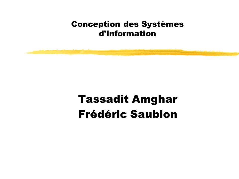 Conception des Systèmes d Information
