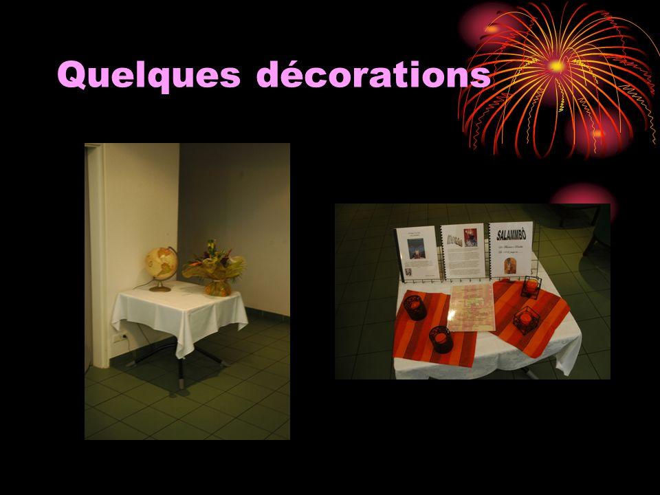 Quelques décorations
