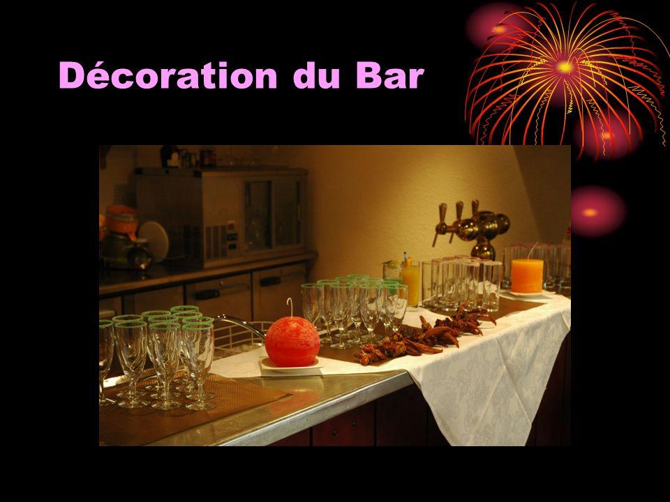 Décoration du Bar