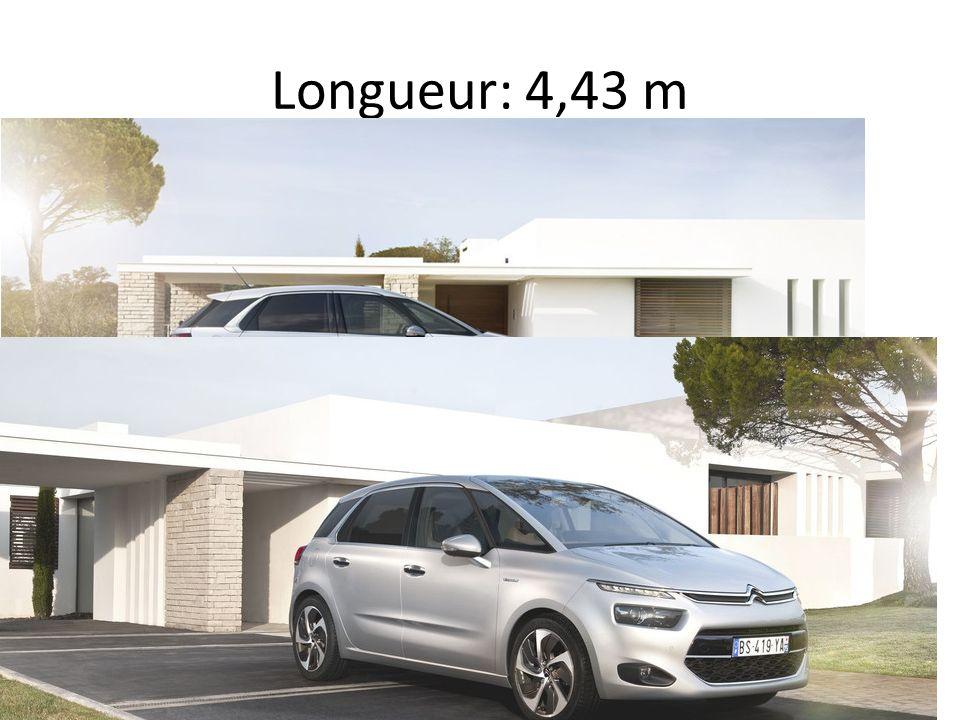 Longueur: 4,43 m