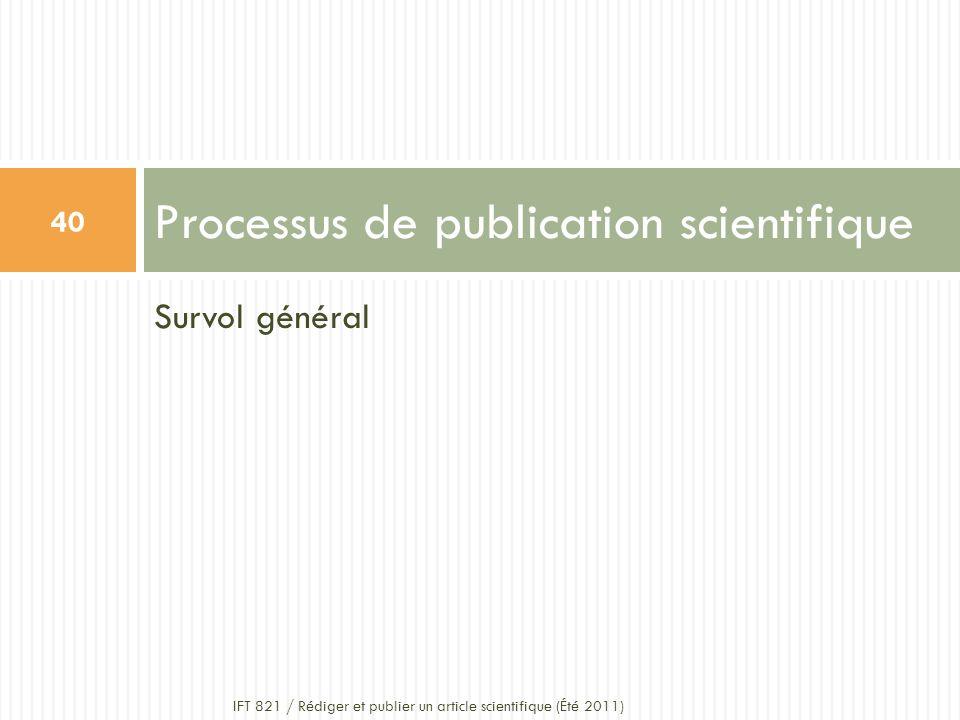 Processus de publication scientifique