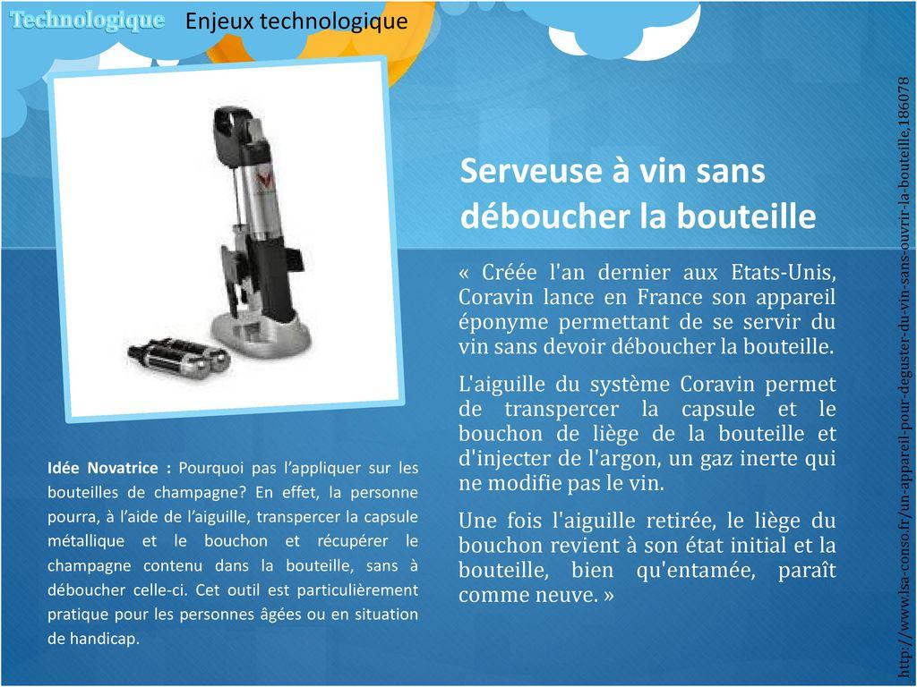 Dossier strat gie de l innovation ppt t l charger - Une bouteille de champagne pour combien de personnes ...