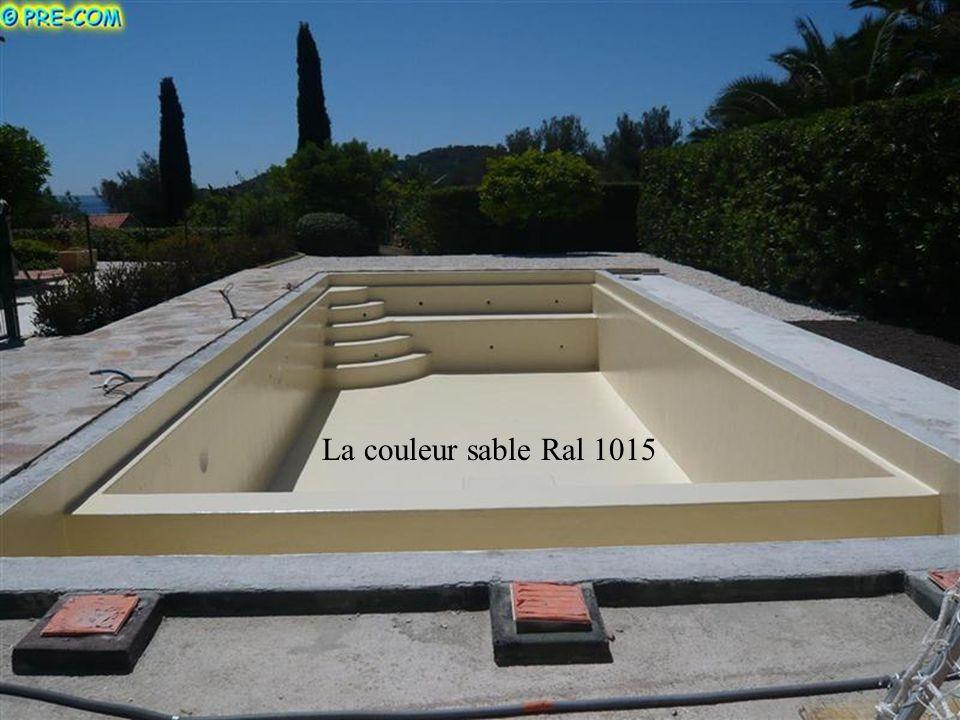 La couleur sable Ral 1015