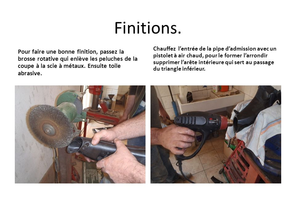 Finitions.