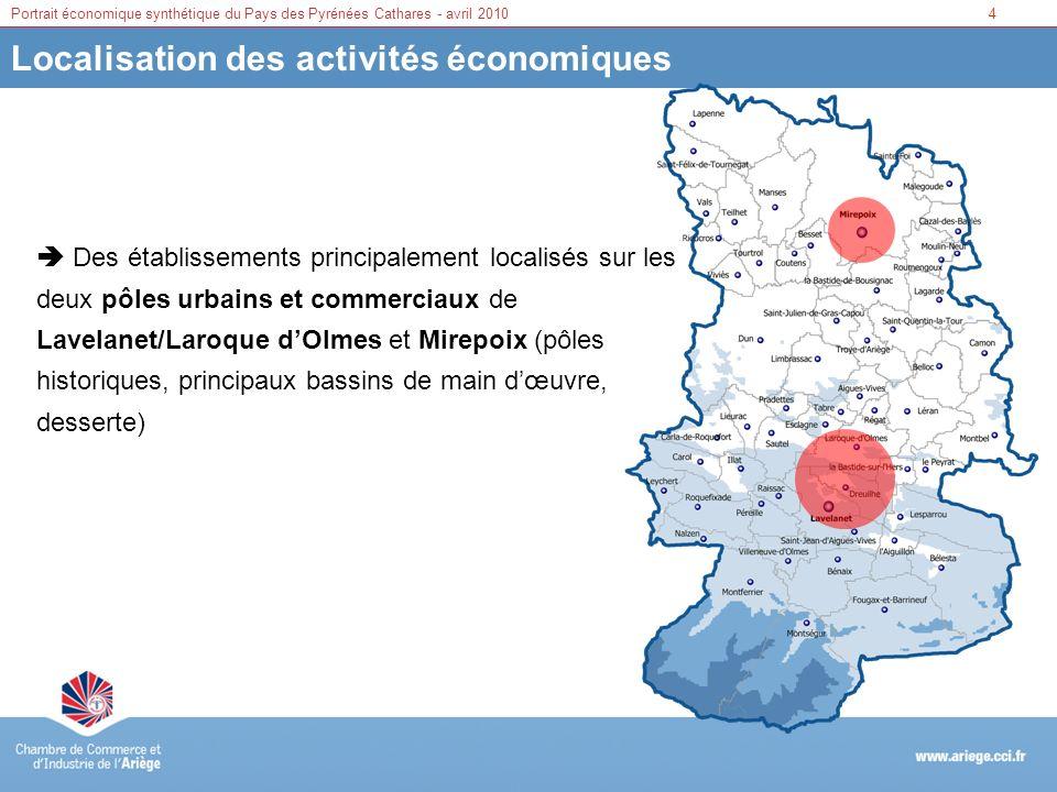 Localisation des activités économiques