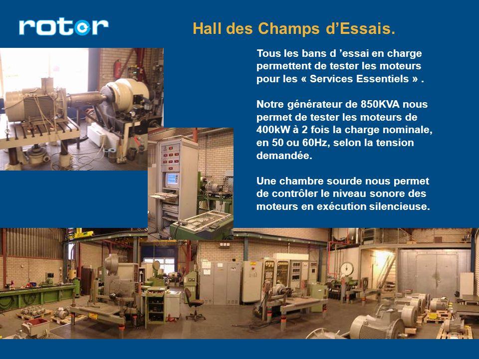 Hall des Champs d'Essais.