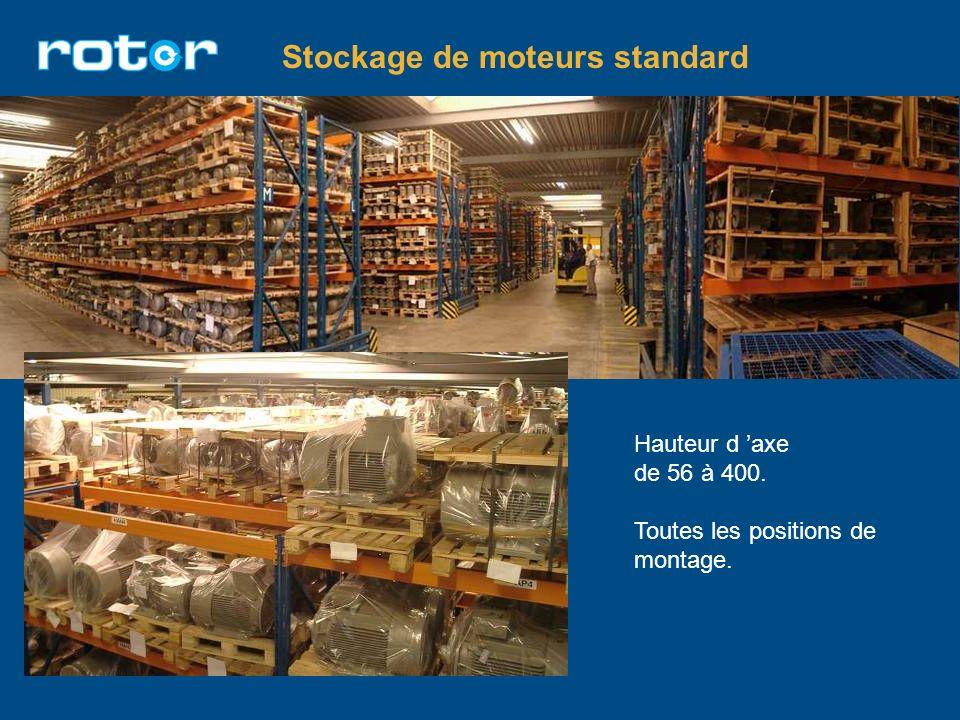 Stockage de moteurs standard