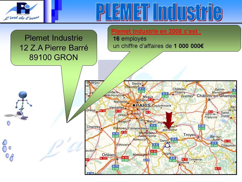 Plemet Industrie 12 Z.A Pierre Barré 89100 GRON