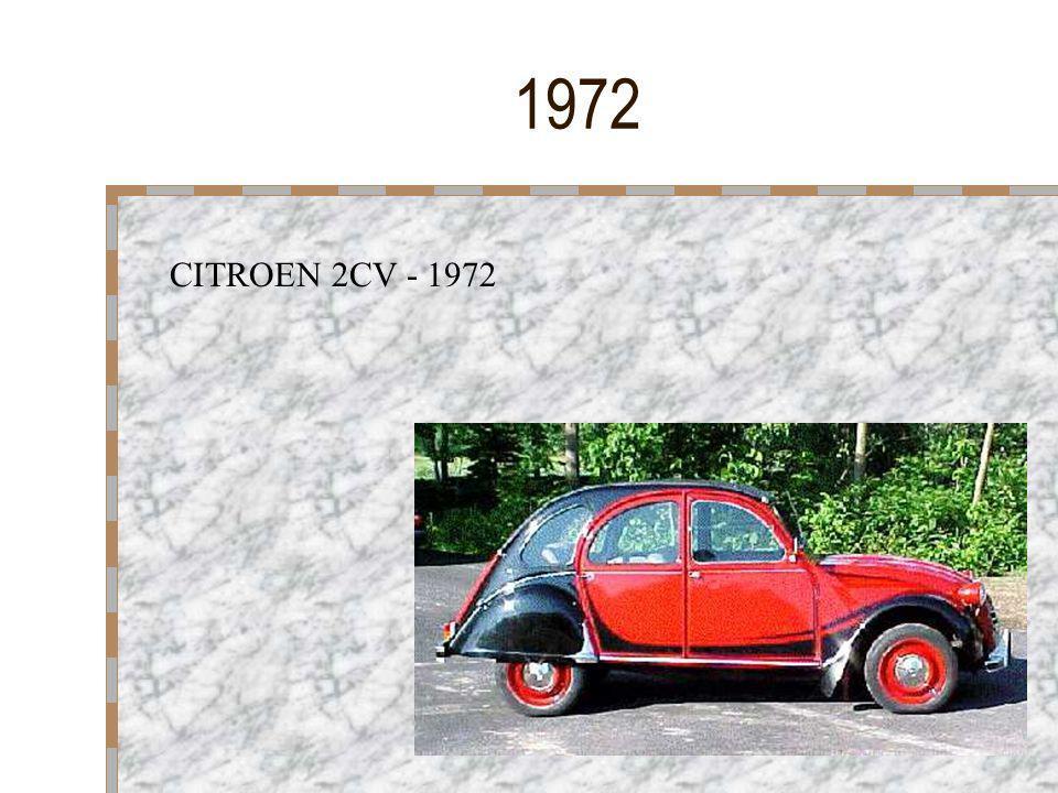 1972 CITROEN 2CV - 1972