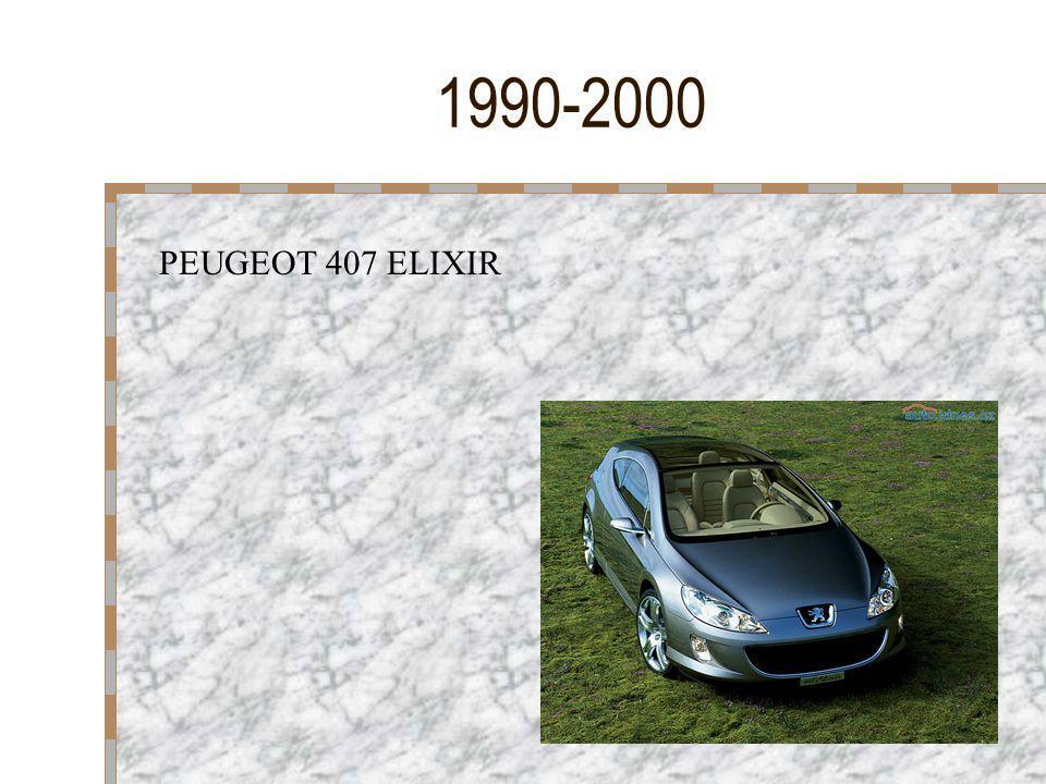 1990-2000 PEUGEOT 407 ELIXIR