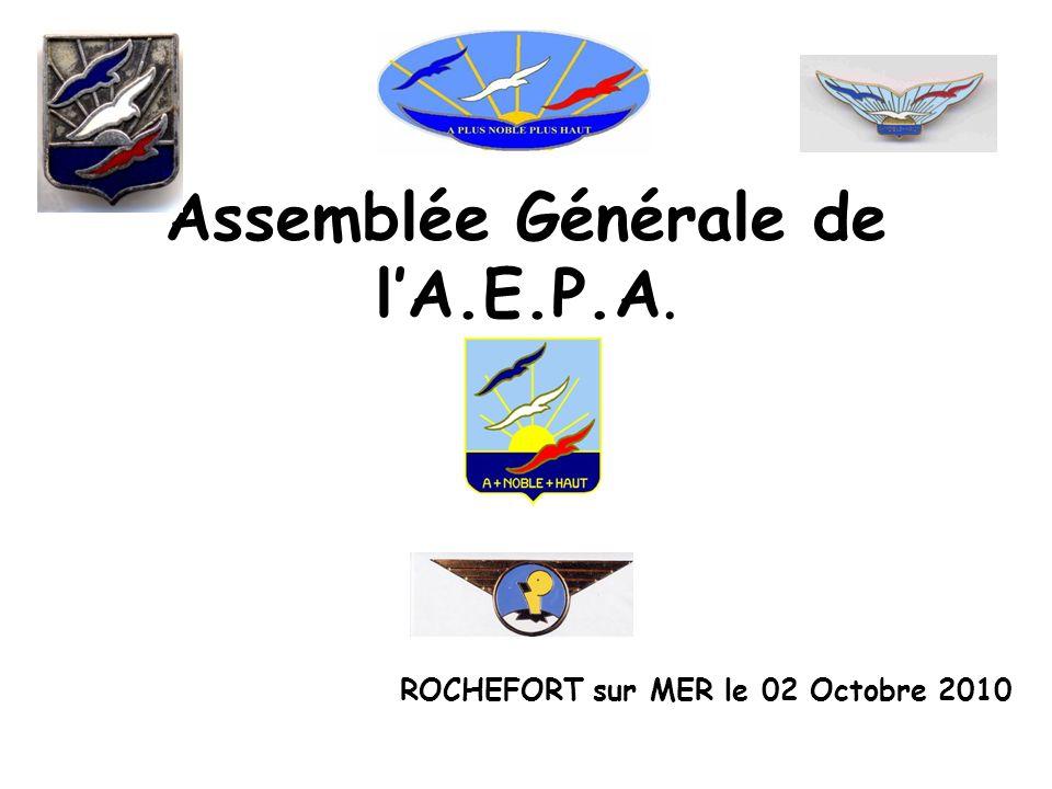 Assemblée Générale de l'A.E.P.A.