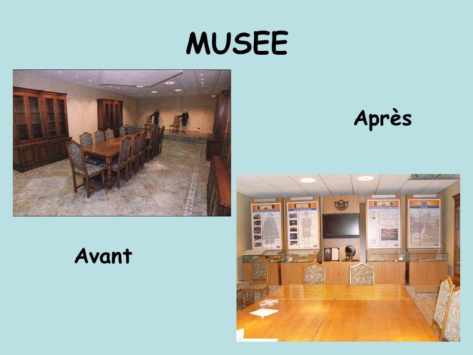 MUSEE Après Avant