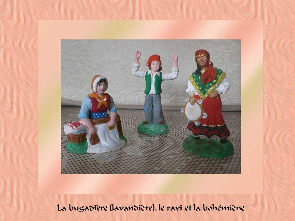 La bugadière (lavandière), le ravi et la bohémiène