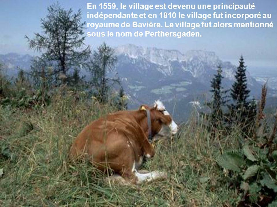En 1559, le village est devenu une principauté indépendante et en 1810 le village fut incorporé au royaume de Bavière.