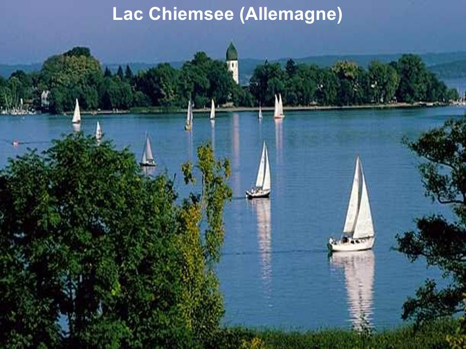 Lac Chiemsee (Allemagne)