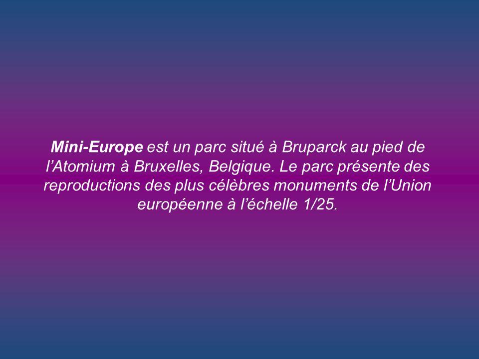 Mini-Europe est un parc situé à Bruparck au pied de l'Atomium à Bruxelles, Belgique.