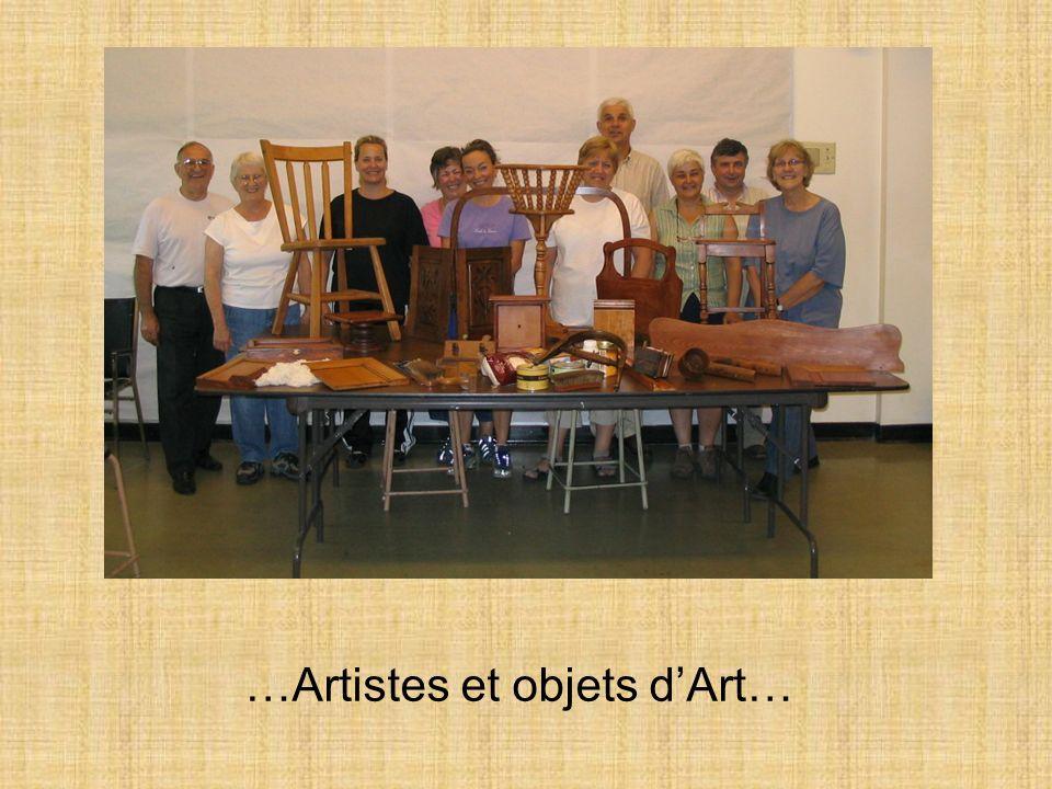 …Artistes et objets d'Art…