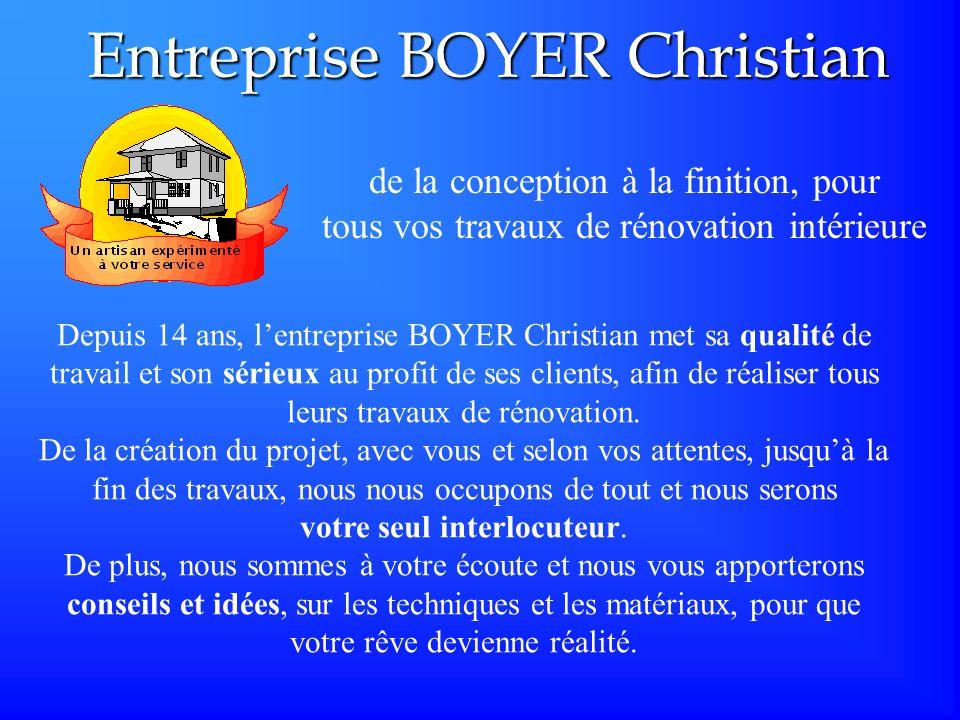 Entreprise BOYER Christian