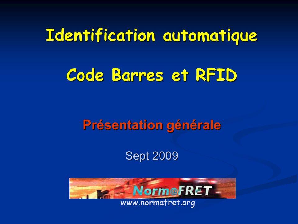 Identification automatique Présentation générale