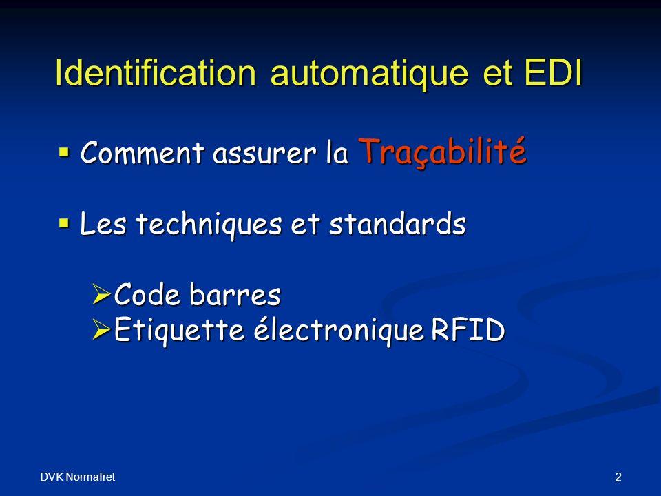 Identification automatique et EDI