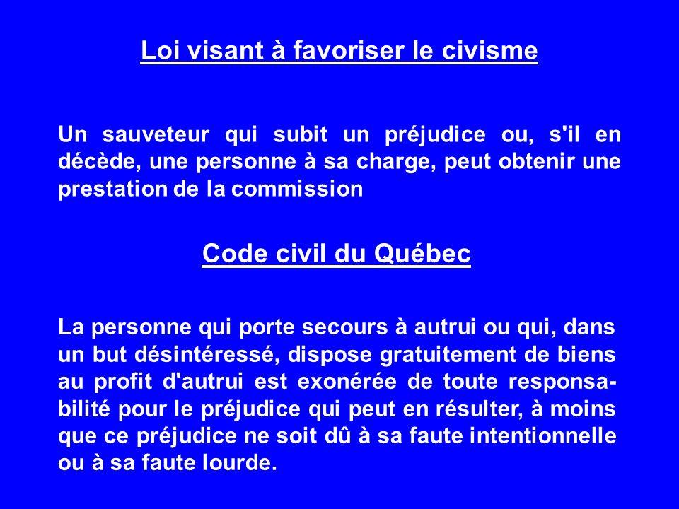 Loi visant à favoriser le civisme