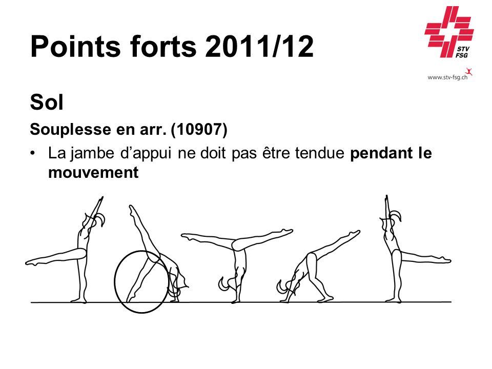 Points forts 2011/12 Sol Souplesse en arr. (10907)
