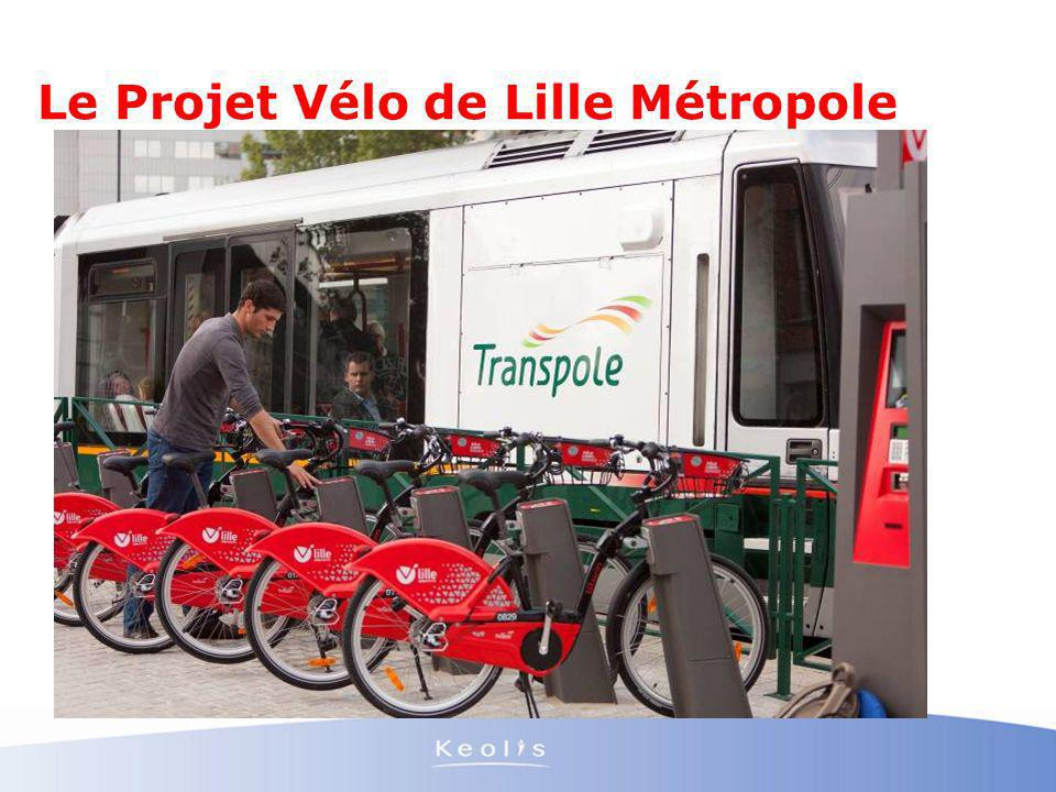 Le Projet Vélo de Lille Métropole
